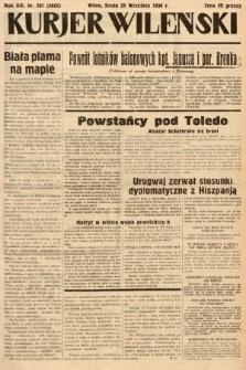 Kurjer Wileński. 1936, nr261