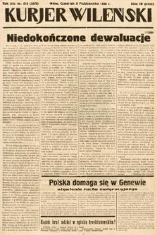 Kurjer Wileński. 1936, nr276