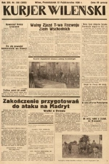 Kurjer Wileński. 1936, nr280