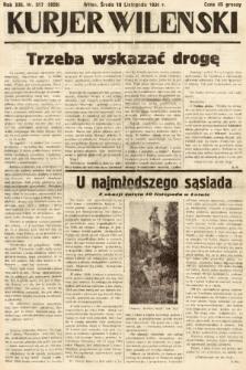 Kurjer Wileński. 1936, nr317