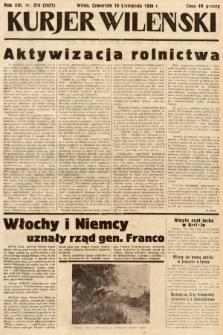 Kurjer Wileński. 1936, nr318