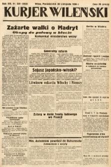 Kurjer Wileński. 1936, nr329