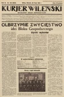 Kurjer Wileński : niezależny organ demokratyczny. 1934, nr143