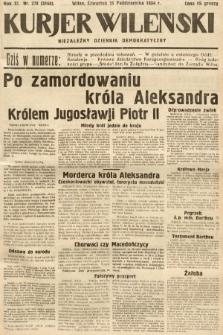 Kurjer Wileński : niezależny dziennik demokratyczny. 1934, nr278