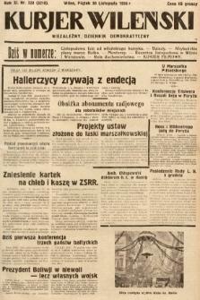 Kurjer Wileński : niezależny dziennik demokratyczny. 1934, nr328