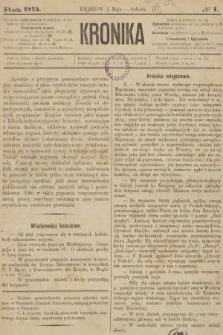 Kronika. 1875, nr1