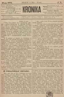 Kronika. 1875, nr7