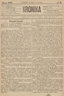 Kronika. 1875, nr9