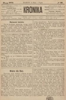 Kronika. 1875, nr10