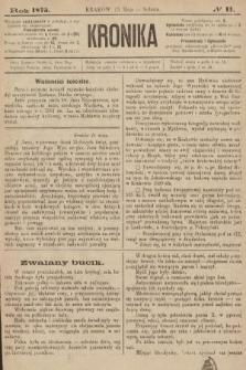 Kronika. 1875, nr11