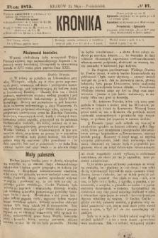 Kronika. 1875, nr17