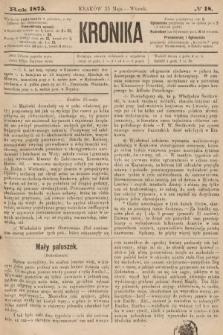 Kronika. 1875, nr18
