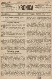 Kronika. 1875, nr22