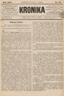 Kronika. 1875, nr27