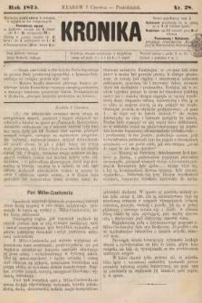 Kronika. 1875, nr28