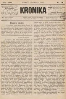 Kronika. 1875, nr29