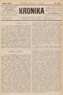 Kronika. 1875, nr31