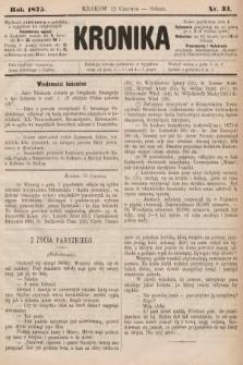 Kronika. 1875, nr33