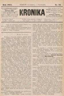 Kronika. 1875, nr34