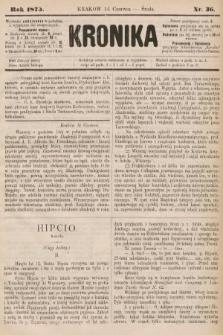 Kronika. 1875, nr36