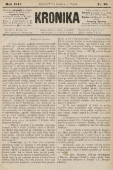 Kronika. 1875, nr38