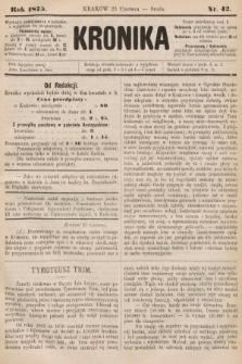 Kronika. 1875, nr42