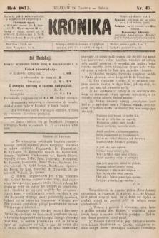 Kronika. 1875, nr45