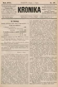 Kronika. 1875, nr49