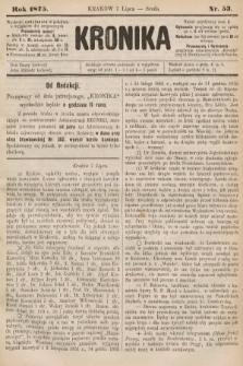 Kronika. 1875, nr53