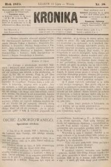 Kronika. 1875, nr58
