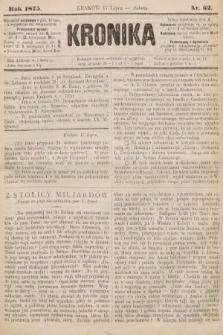 Kronika. 1875, nr62