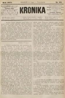Kronika. 1875, nr63