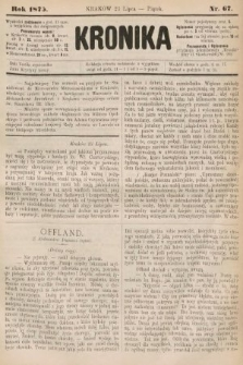 Kronika. 1875, nr67