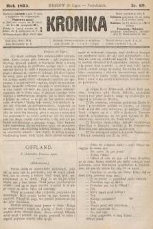 Kronika. 1875, nr69