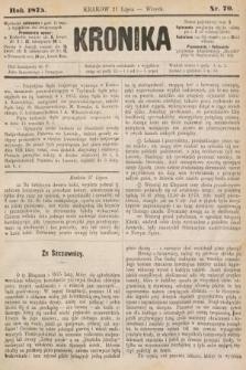 Kronika. 1875, nr70