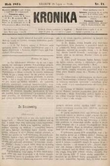 Kronika. 1875, nr71