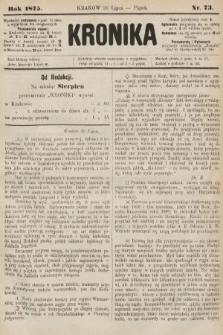 Kronika. 1875, nr73