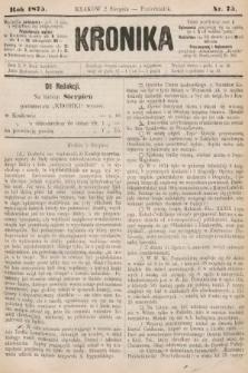 Kronika. 1875, nr75