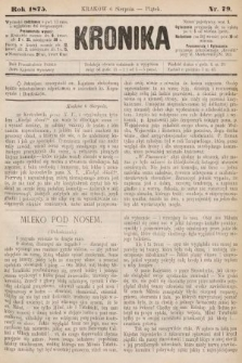 Kronika. 1875, nr79