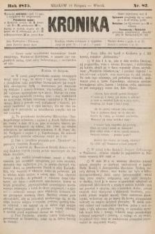 Kronika. 1875, nr82