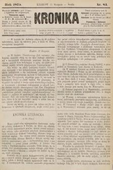 Kronika. 1875, nr83
