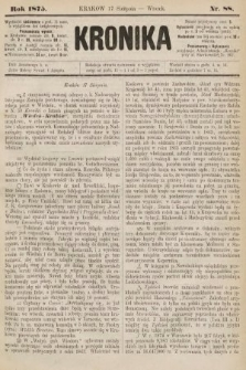 Kronika. 1875, nr88