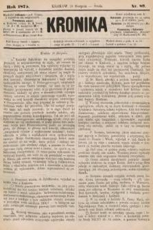 Kronika. 1875, nr89