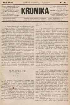Kronika. 1875, nr93