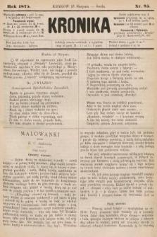 Kronika. 1875, nr95