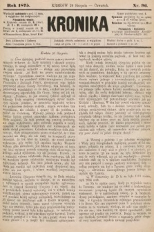 Kronika. 1875, nr96