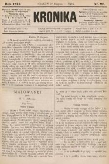 Kronika. 1875, nr97