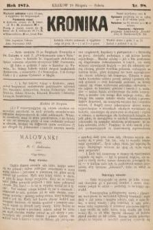 Kronika. 1875, nr98