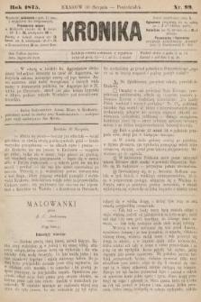 Kronika. 1875, nr99