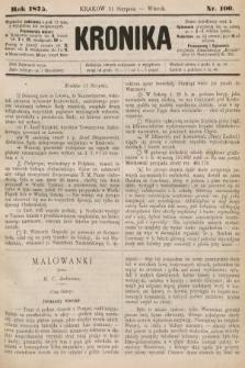 Kronika. 1875, nr100